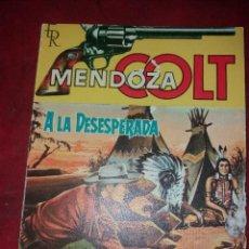 Tebeos: MENDOZA COLT.NUMERO 29.NOVELA GRAFICA.EDITORIAL ROLLAN. Lote 185924815