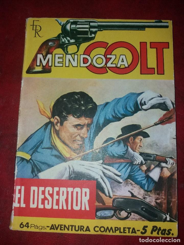 MENDOZA COLT.NUMERO 52.NOVELA GRAFICA.EDITORIAL ROLLAN (Tebeos y Comics - Rollán - Mendoza Colt)