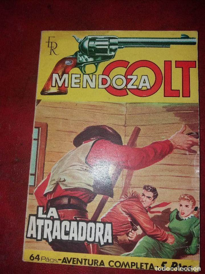 MENDOZA COLT.NUMERO 67.NOVELA GRAFICA.EDITORIAL ROLLAN (Tebeos y Comics - Rollán - Mendoza Colt)