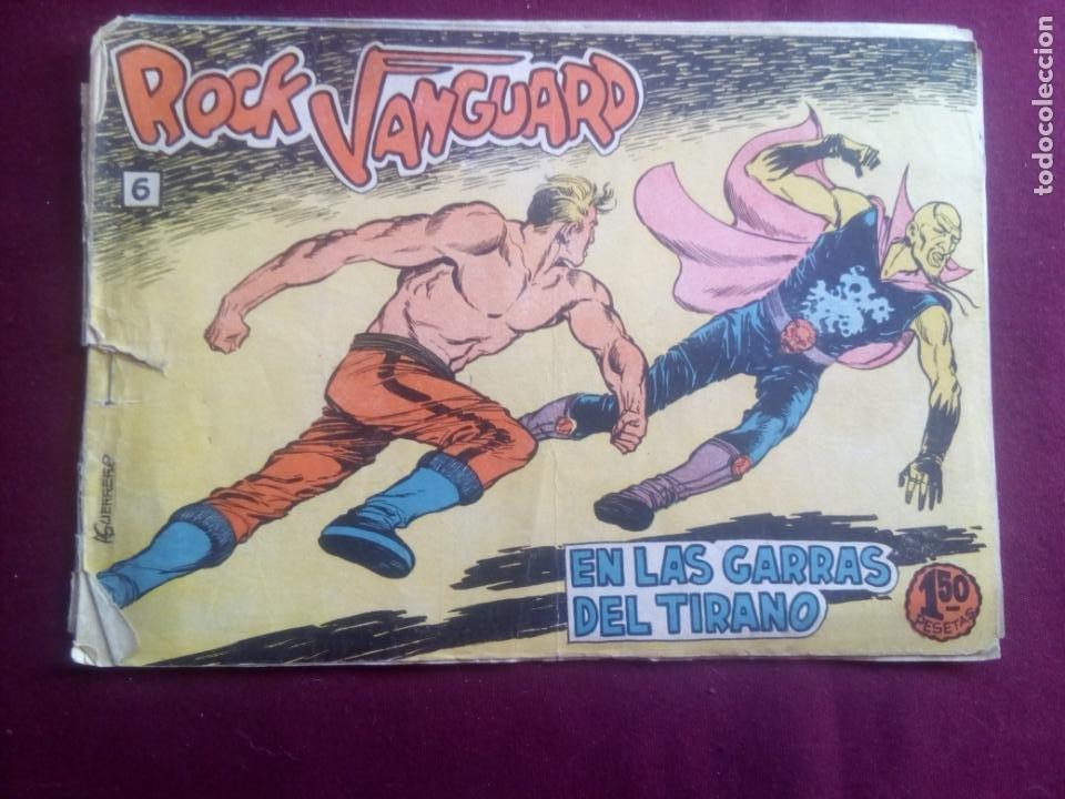 ROCK VANGUARD (Tebeos y Comics - Rollán - Rock Vanguard)