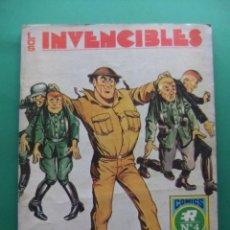 Tebeos: LOS INVENCIBLES Nº 4 BONBARDERO BRIGGS EDITORIAL ROLLAN SERIE AZUL. Lote 187862236