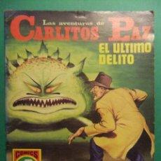 Tebeos: LAS AVENTURAS DE CARLITOS PAZ Nº 21 EDITORIAL ROLLAN. Lote 189248863