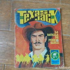 Tebeos: TEXAS JACK Nº 7 EDITORIAL ROLLÁN 1973. Lote 189272546