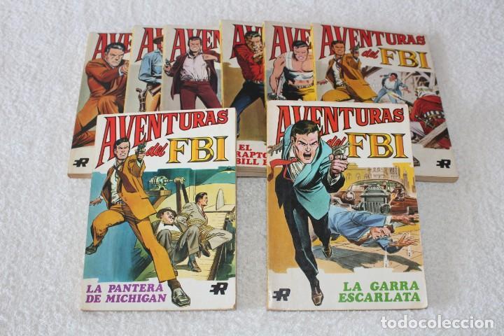AVENTURAS DEL FBI - COLECCION COMPLETA 8 NUMEROS - EDITORIAL ROLLAN 1974 (Tebeos y Comics - Rollán - FBI)