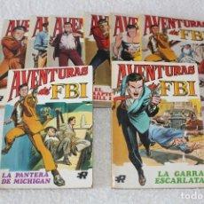 Tebeos: AVENTURAS DEL FBI - COLECCION COMPLETA 8 NUMEROS - EDITORIAL ROLLAN 1974. Lote 189325247