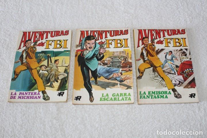 Tebeos: AVENTURAS DEL FBI - COLECCION COMPLETA 8 NUMEROS - EDITORIAL ROLLAN 1974 - Foto 3 - 189325247