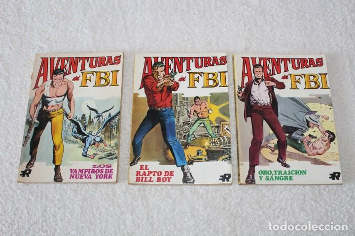 Tebeos: AVENTURAS DEL FBI - COLECCION COMPLETA 8 NUMEROS - EDITORIAL ROLLAN 1974 - Foto 5 - 189325247