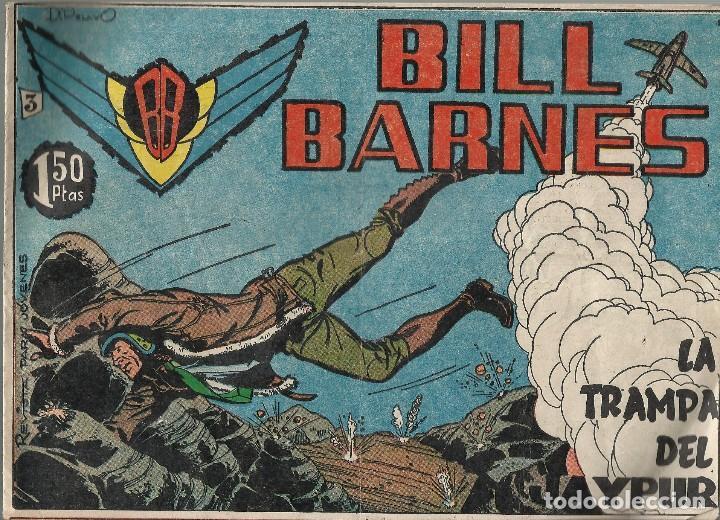BILL BARNES - LA TRAMPA DEL JAYPUR Nº3 - M.B.E. (Tebeos y Comics - Rollán - Otros)