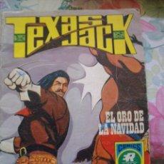 Livros de Banda Desenhada: TEXAS JACK Nº 9 SERIE AZUL EL ORO DE LA NAVIDAD Nº 19 EDITORIAL ROLLAN OESTE. Lote 190335338