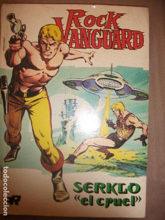 ROCK VANGUARD Nº 2 - EDITORIAL ROLLAN 1974 (Tebeos y Comics - Rollán - Rock Vanguard)