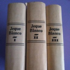 Tebeos: JOYA .JEQUE BLANCO COMPLETA EN 3 TOMOS. AÑO 1982 EDITORIAL ANDINA S.A. EDICIONES B.O. 137 NUMEROS. . Lote 191104873