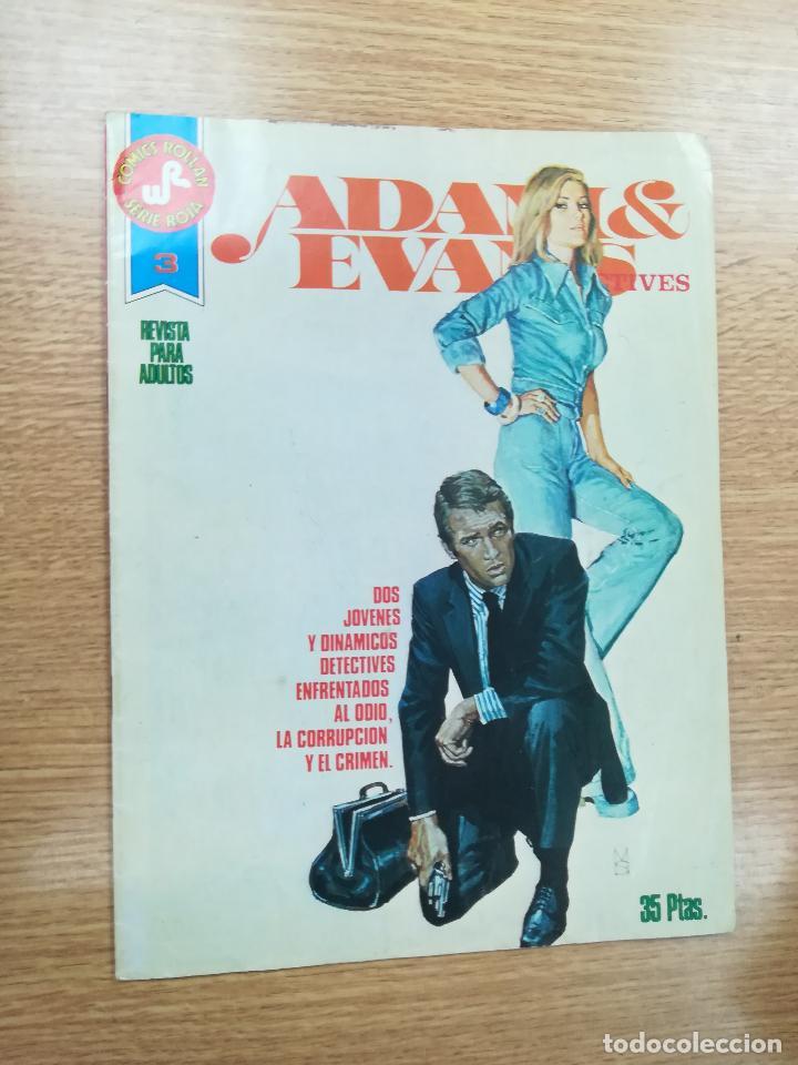 ADAM & EVANS #3 (COMICS ROLLAN - SERIE ROJA) (Tebeos y Comics - Rollán - Series Rollán (Azul, Roja, etc))