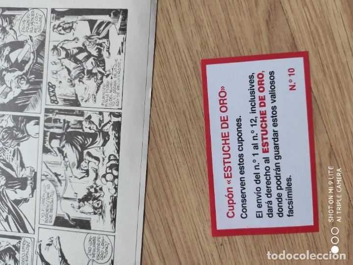 Tebeos: COMIC JEQUE BLANCO, MISION EN ÁFRICA, EN EL INTERIOR CUPON ESTUCHE - Foto 3 - 192227293