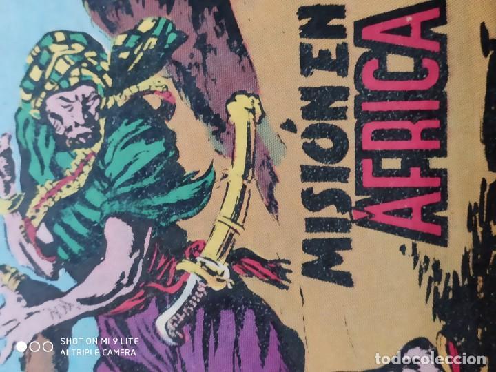 Tebeos: COMIC JEQUE BLANCO, MISION EN ÁFRICA, EN EL INTERIOR CUPON ESTUCHE - Foto 4 - 192227293