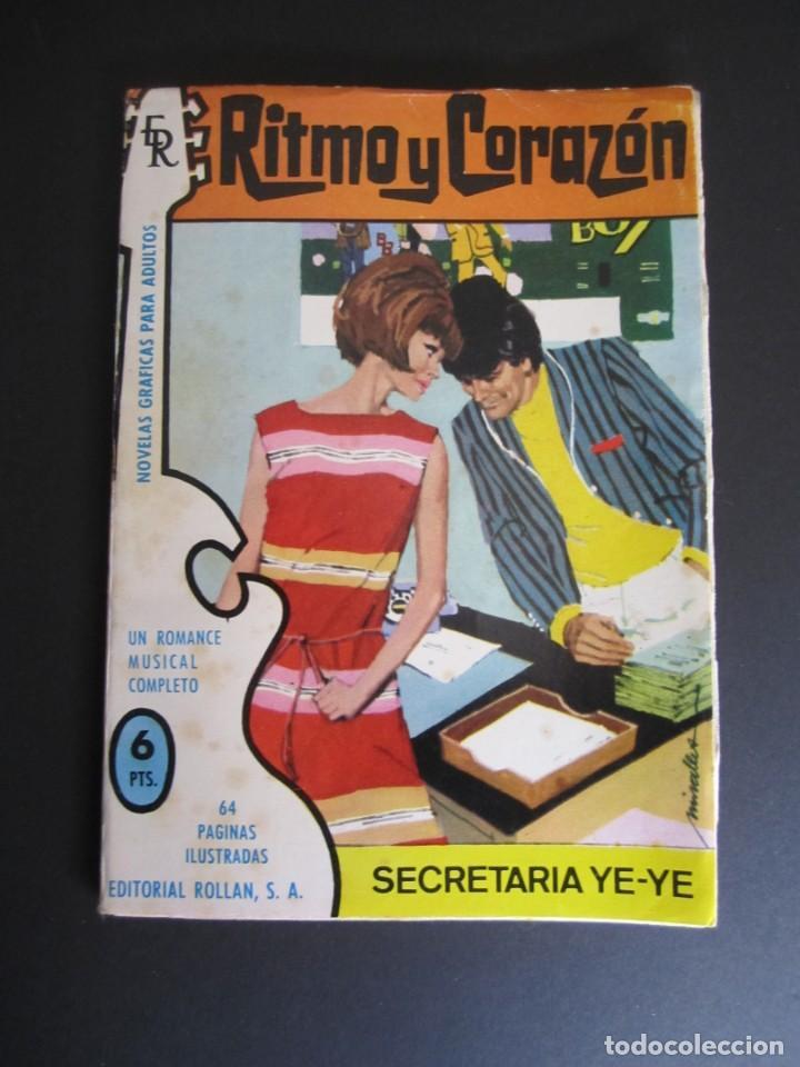 RITMO Y CORAZÓN (1966, ROLLAN) 11 · 1966 · RITMO Y CORAZÓN (Tebeos y Comics - Rollán - Otros)