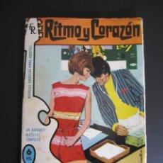 Tebeos: RITMO Y CORAZÓN (1966, ROLLAN) 11 · 1966 · RITMO Y CORAZÓN. Lote 192795998