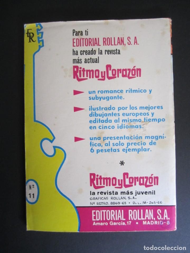 Tebeos: RITMO Y CORAZÓN (1966, ROLLAN) 11 · 1966 · Ritmo y Corazón - Foto 2 - 192795998