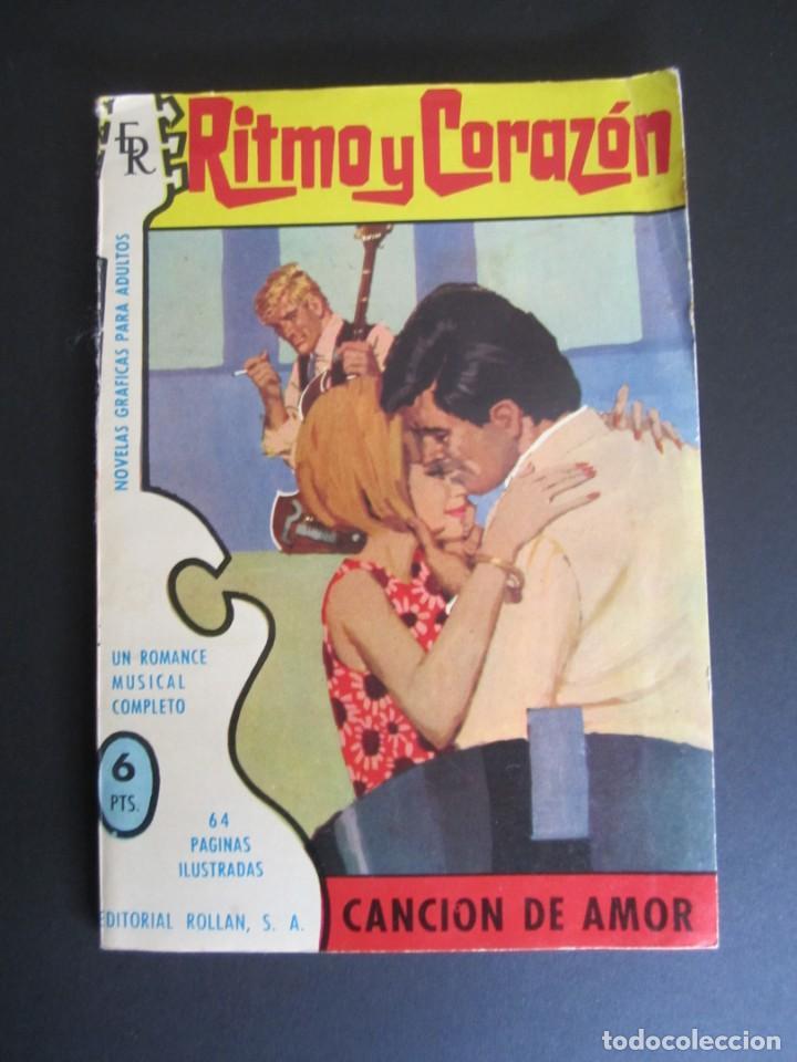 RITMO Y CORAZÓN (1966, ROLLAN) 7 · 1966 · CANCION DE AMOR (Tebeos y Comics - Rollán - Otros)