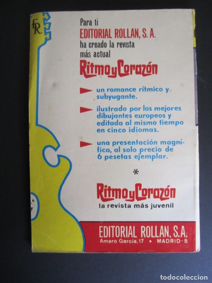Tebeos: RITMO Y CORAZÓN (1966, ROLLAN) 7 · 1966 · CANCION DE AMOR - Foto 2 - 192796955