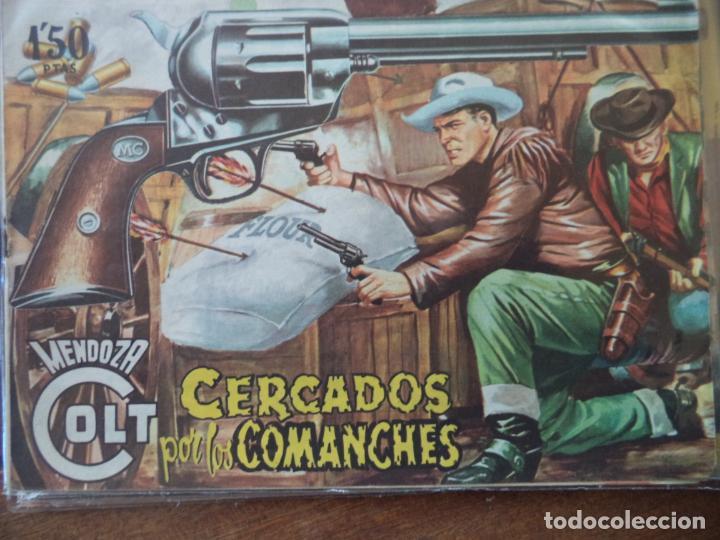 MENDOZA COLT Nº 20 ORIGINAL (Tebeos y Comics - Rollán - Mendoza Colt)
