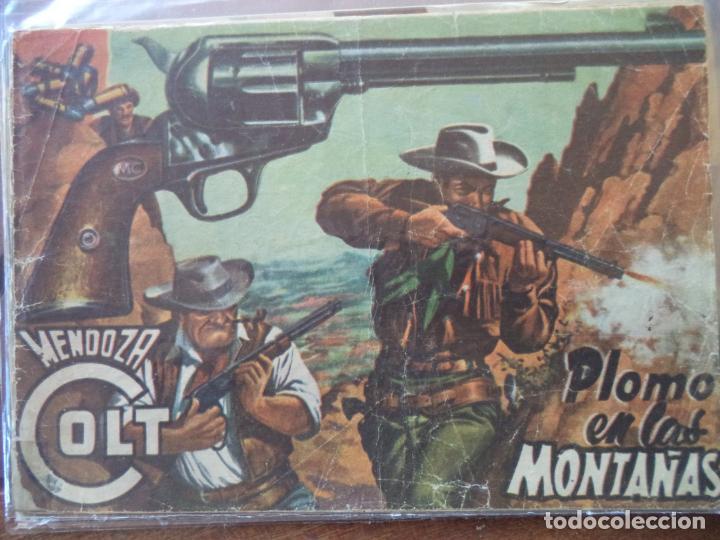 MENDOZA COLT Nº 13 ORIGINAL (Tebeos y Comics - Rollán - Mendoza Colt)
