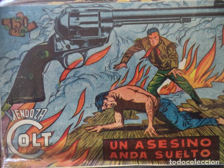 MENDOZA COLT Nº 110 ORIGINAL (Tebeos y Comics - Rollán - Mendoza Colt)