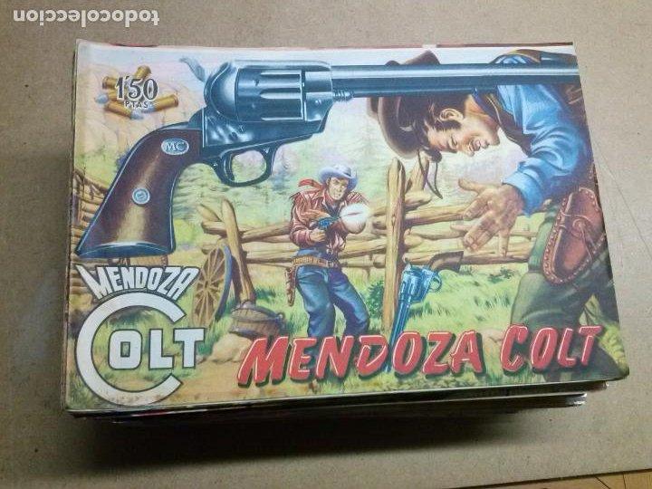 MENDOZA COLT A FALTA DE 4 NºS CASI COMPLETA (Tebeos y Comics - Rollán - Mendoza Colt)