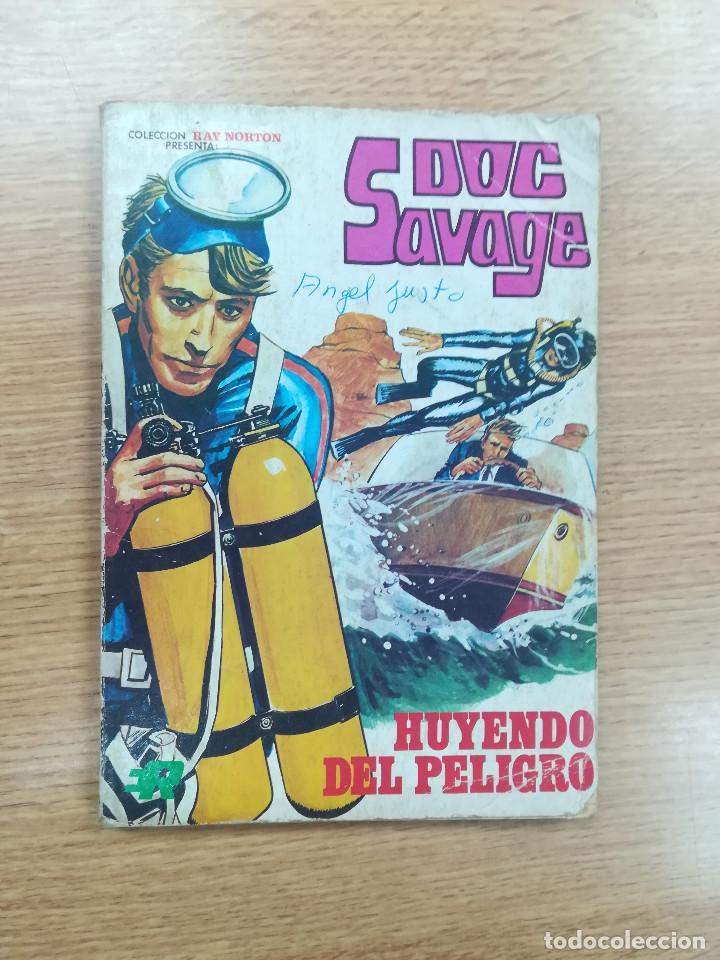 DOC SAVAGE #3 HUYENDO DEL PELIGRO (Tebeos y Comics - Rollán - Otros)