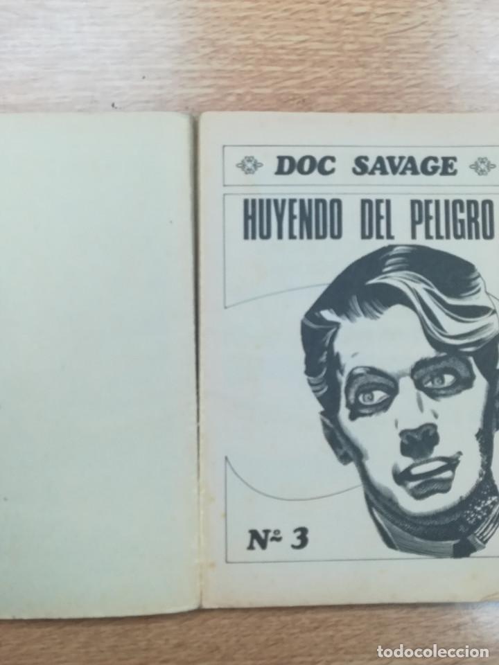 Tebeos: DOC SAVAGE #3 HUYENDO DEL PELIGRO - Foto 4 - 194141150