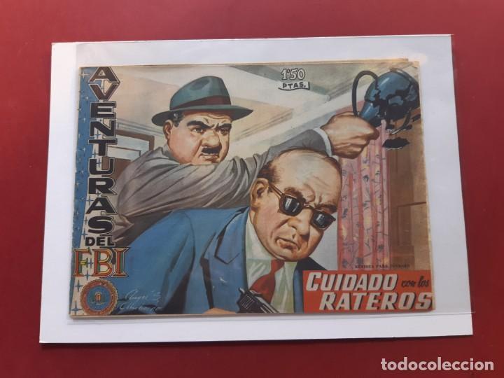 AVENTURAS DEL F.B.I Nº 187 ORIGINAL (Tebeos y Comics - Rollán - FBI)