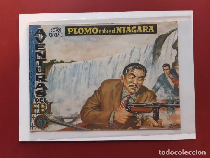 AVENTURAS DEL F.B.I - Nº 181--ORIGINAL (Tebeos y Comics - Rollán - FBI)