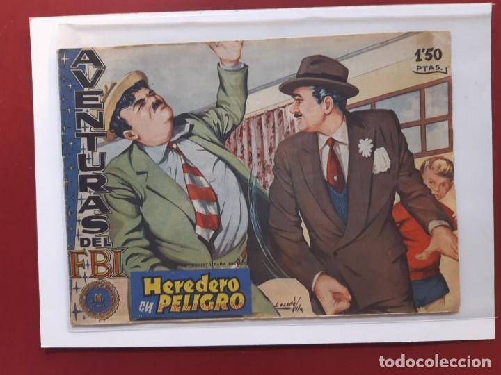 AVENTURAS DEL F.B.I - Nº 191--ORIGINAL (Tebeos y Comics - Rollán - FBI)