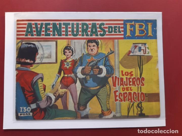 AVENTURAS DEL F.B.I Nº 242 ORIGINAL (Tebeos y Comics - Rollán - FBI)