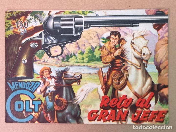 MENDOZA COLT EDT. ROLLAN N°3 (Tebeos y Comics - Rollán - Mendoza Colt)