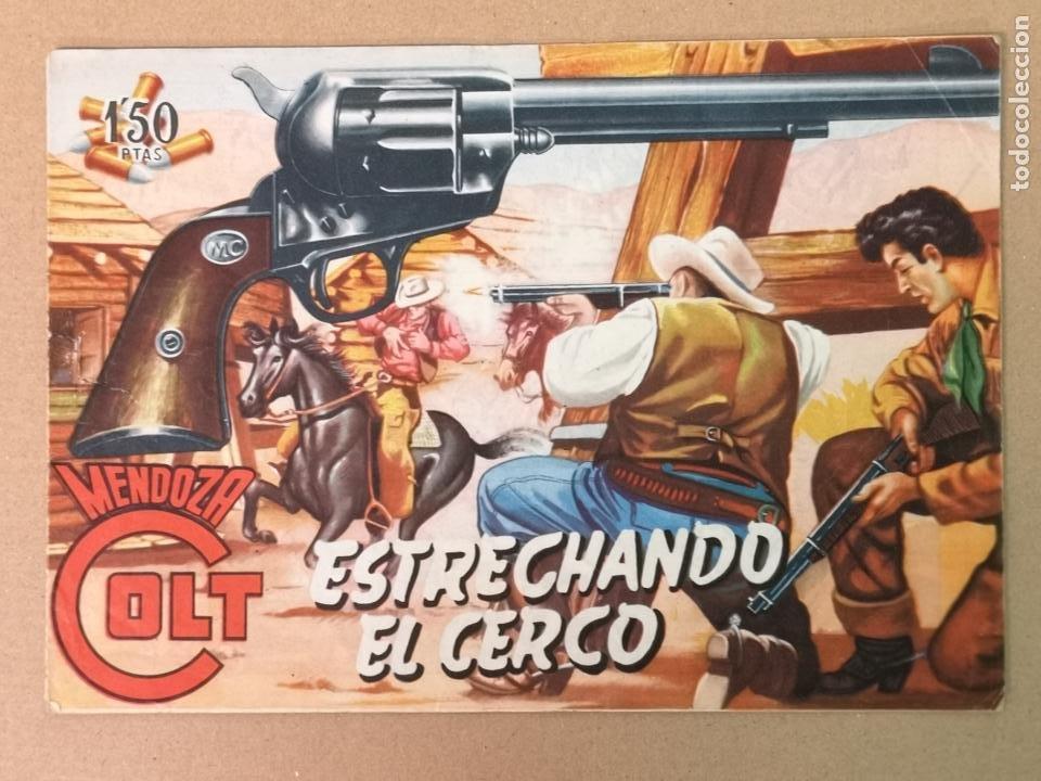 MENDOZA COLT EDT. ROLLAN N°4 (Tebeos y Comics - Rollán - Mendoza Colt)
