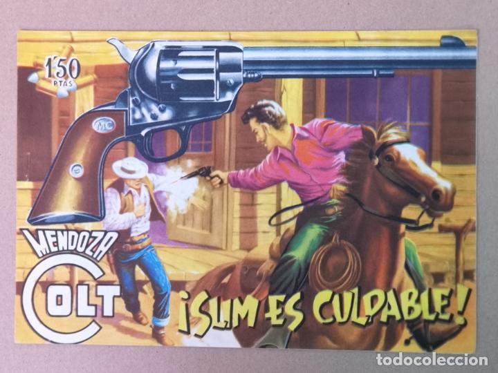 MENDOZA COLT EDT. ROLLAN N°5 (Tebeos y Comics - Rollán - Mendoza Colt)