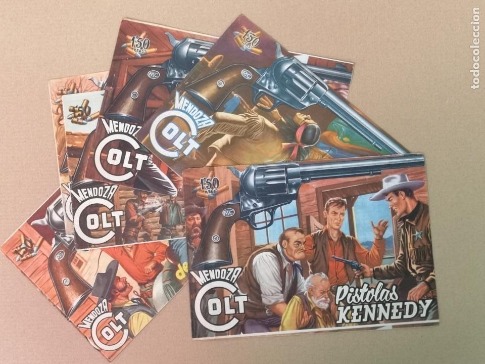 MENDOZA COLT EDT. ROLLAN 7 EJEMPLARES (Tebeos y Comics - Rollán - Mendoza Colt)
