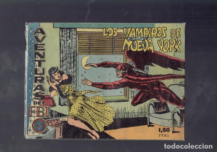 AVENTURAS DEL F.B.I. LOS VAMPIROS DE NUEVA YORK N,11 ES EL ORIGINAL (Tebeos y Comics - Rollán - FBI)