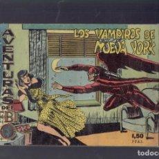 Tebeos: AVENTURAS DEL F.B.I. LOS VAMPIROS DE NUEVA YORK N,11 ES EL ORIGINAL. Lote 194287651
