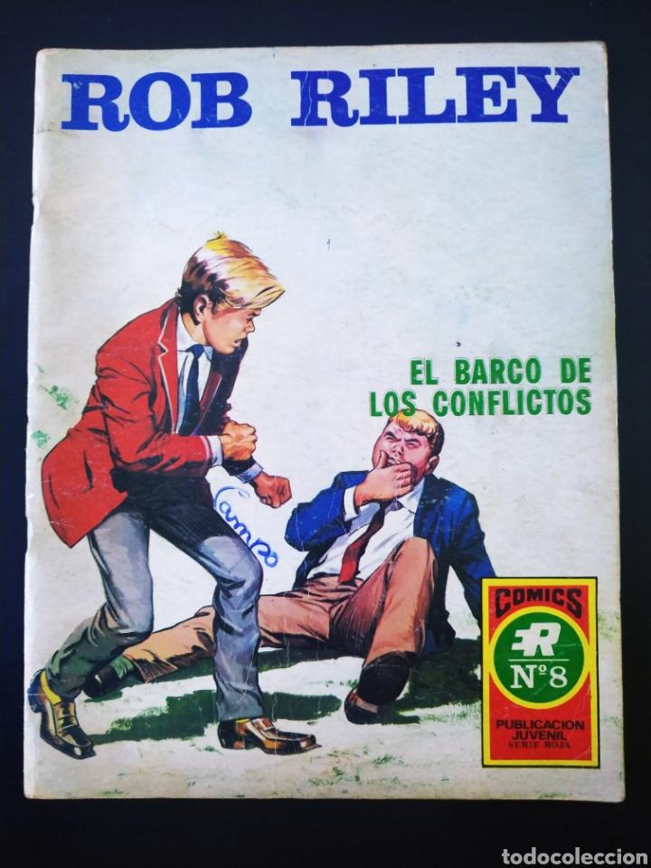 MUY BUEN ESTADO ROB RILEY ROLLAN SERIE ROJA 8 (Tebeos y Comics - Rollán - Series Rollán (Azul, Roja, etc))