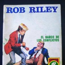 Tebeos: MUY BUEN ESTADO ROB RILEY ROLLAN SERIE ROJA 8. Lote 195065905