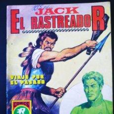 Tebeos: MUY BUEN ESTADO JACK EL RASTREADOR ROLLAN SERIE ROJA 11. Lote 195066016