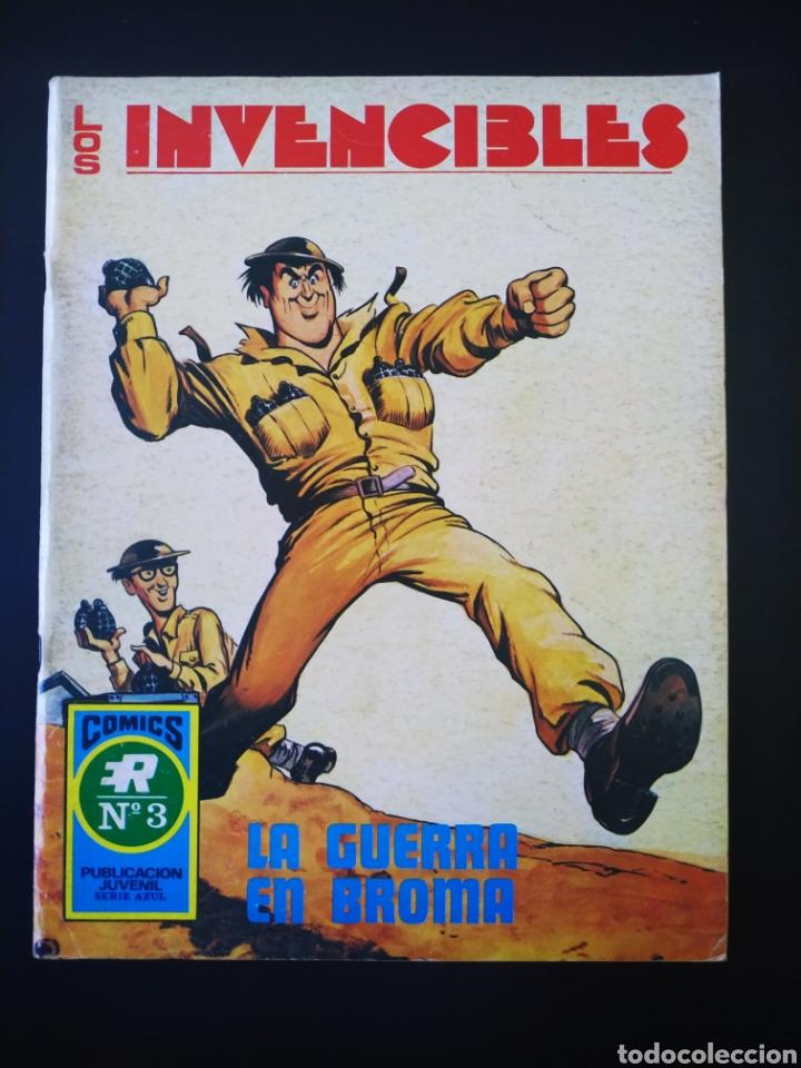 CASI EXCELENTE ESTADO LOS INVENCIBLES ROLLAN SERIE AZUL 3 (Tebeos y Comics - Rollán - Series Rollán (Azul, Roja, etc))