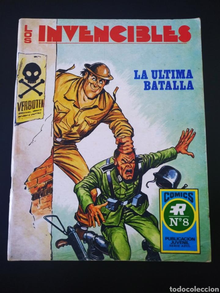 CASI EXCELENTE ESTADO LOS INVENCIBLES ROLLAN SERIE AZUL 8 (Tebeos y Comics - Rollán - Series Rollán (Azul, Roja, etc))