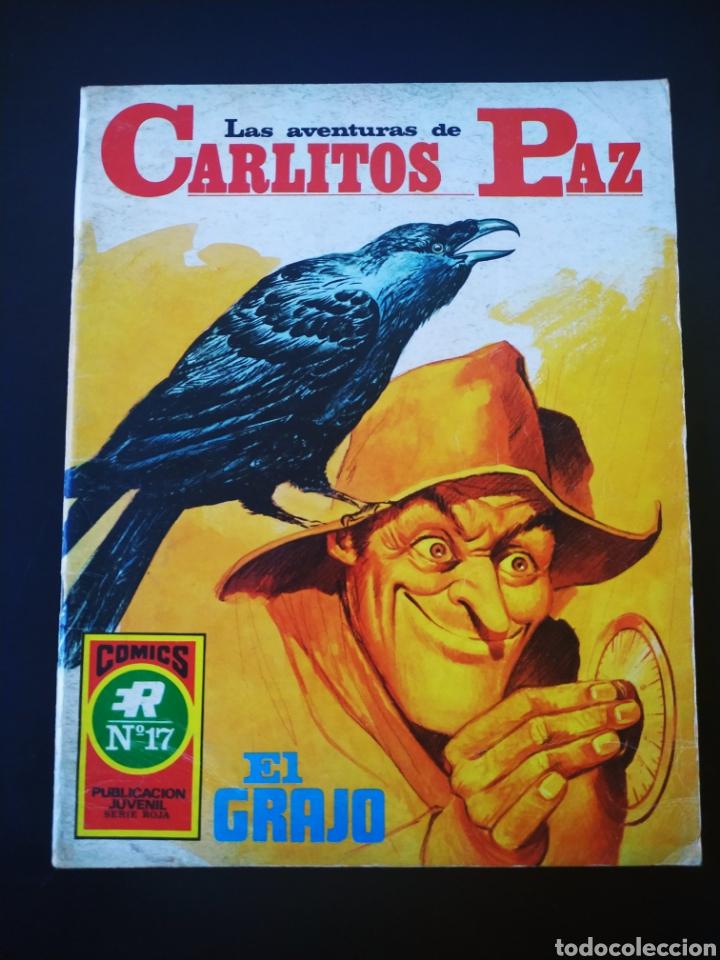 CASI EXCELENTE ESTADO LAS AVENTURAS DE CARLITOS PAZ ROLLAN SERIE ROJA 17 (Tebeos y Comics - Rollán - Series Rollán (Azul, Roja, etc))