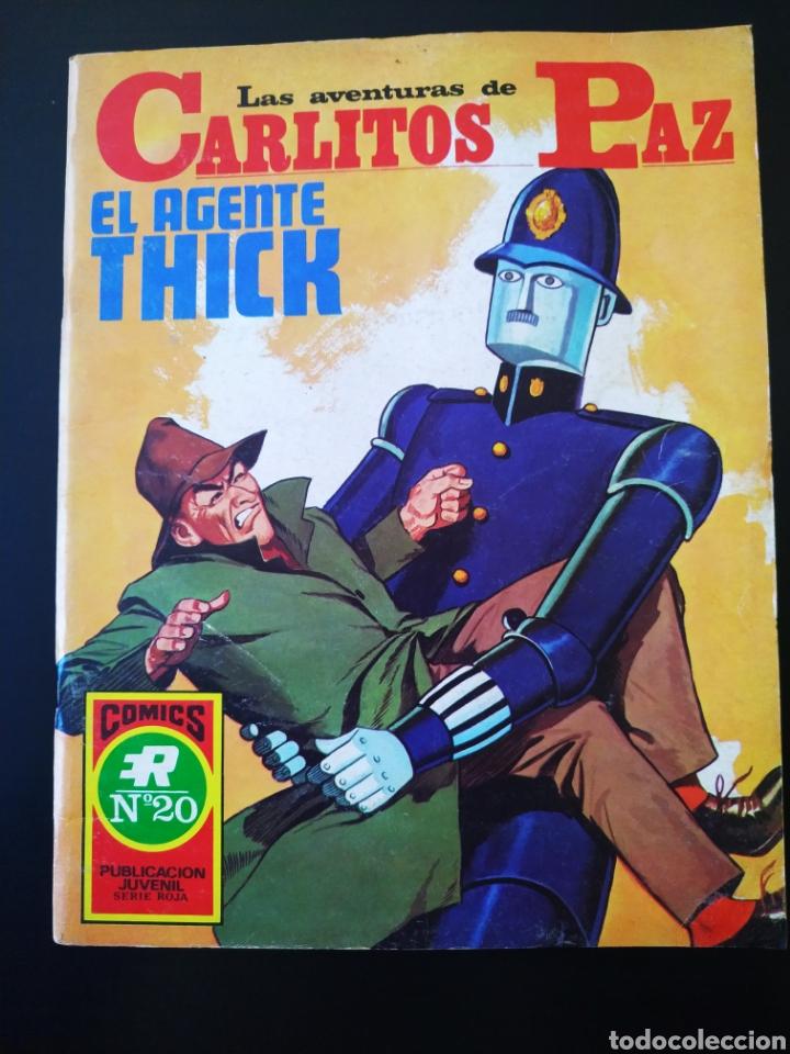 EXCELENTE ESTADO LAS AVENTURAS DE CARLITOS PAZ ROLLAN SERIE ROJA 20 (Tebeos y Comics - Rollán - Series Rollán (Azul, Roja, etc))