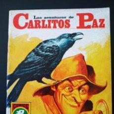 Tebeos: EXCELENTE ESTADO LAS AVENTURAS DE CARLITOS PAZ ROLLAN SERIE ROJA 17. Lote 195068088