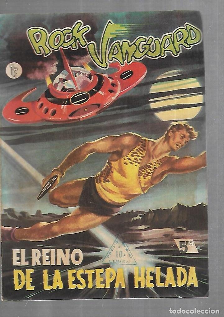 TEBEO. ROCK VANGUARD. Nº 7. EL REINO DE LA ESTEPA HELADA. EDITORIAL ROLLAN (Tebeos y Comics - Rollán - Rock Vanguard)