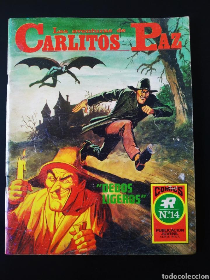 MUY BUEN ESTADO LAS AVENTURAS DE CARLITOS PAZ 14 ROLLAN SERIE ROJA (Tebeos y Comics - Rollán - Series Rollán (Azul, Roja, etc))