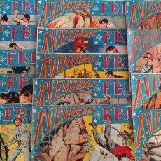 Livros de Banda Desenhada: LOTE DE 14 NUMEROS AVENTURAS DEL FBI ED. ROLLAN. ORIGINAL DE EPOCA. Lote 197171855